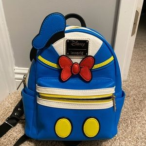 Disney Loungefly Backpack Donald Duck